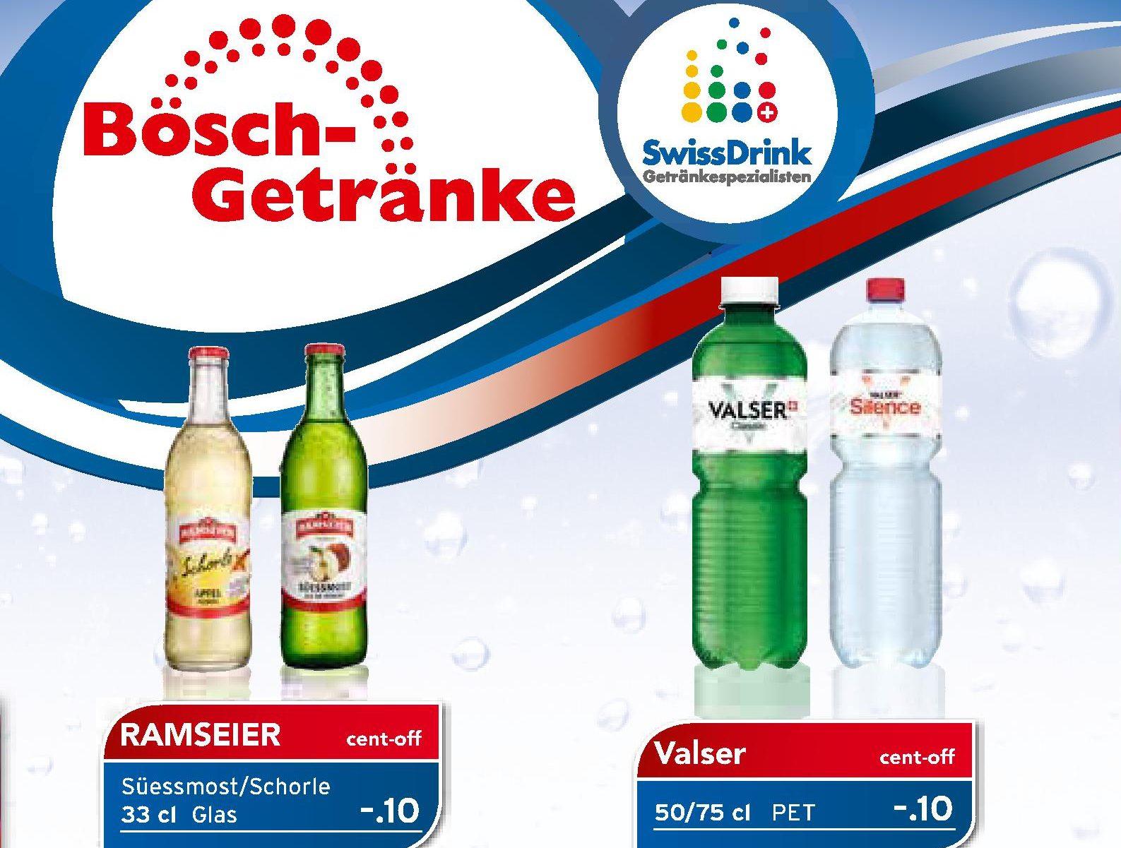 Bösch Getränke | Aktionen Swissdrink